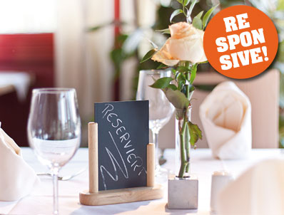 Foto von Restaurant Webdesign
